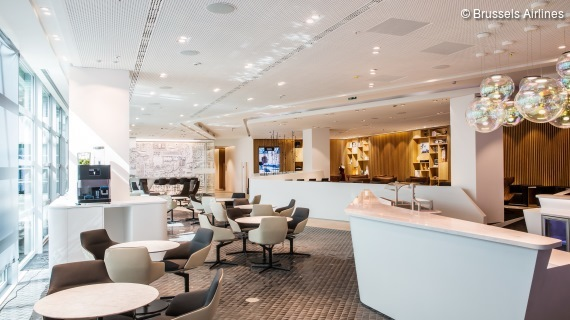 Brussels Airlines Business Class Lounge