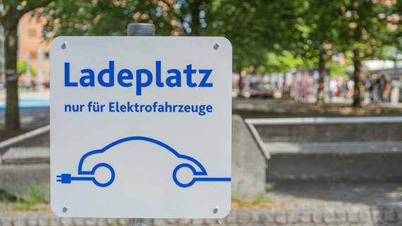 E-Parking an deutschen Airports